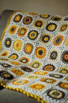 Crochet Blanket <3 <-- lovely colours