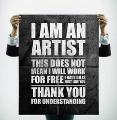 For all the artists, musicians, writers and other creative folks out there... (And remember to pin to the original source when you can — it helps working artists pay those bills!)