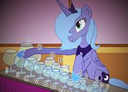 My liitle Pony Luna and the Glass Harp | juegos my little pony - jugar mi pequeño pony