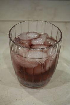 Purple Russian     (1 1/2 shots vodka  1/2 shot Chambord)
