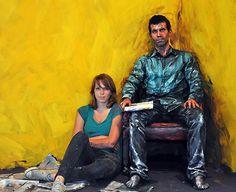 oil paintings, real people, art paintings, body paintings, alexa mead