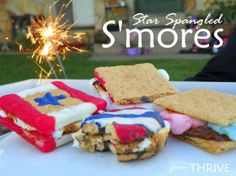 holiday, juli smore, juli 4th, blue, stars, summer, 4th of july, decor smore, patriot