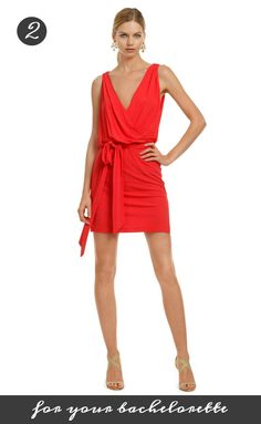Is red the perfect color for your Bachelorette? Yes!