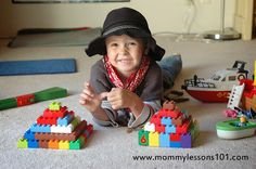 Mommy Lessons 101: E is for Egypt: Kindergarten Activities to explore Ancient Egypt