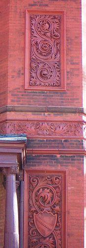 St Joseph, MO Herschel-Bartlett-Parker House detail