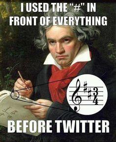 Beethoven Humor #twitter