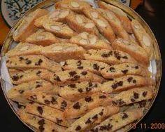 Cantuccini di Prato (Italy) alle mandorle - recipe