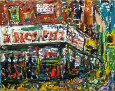 "PHILIP LAWRENCE SHERROD NA (*FOUNDER*/-..-*STREET*PAINTERS)!?(STREET*PAINTER)-*PAINTING*-..(*NYC*/-..*PLEIN*AIR*!)?  TITLE:-""6TH*AVE/-..-*25TH*STREET/-..(2*BROS*PIZZA!)-..*NYC*(!)""? MED:OIL/CANVAS SIZE:20"" X 24"" DATE:2013 artist's(C)copyright"