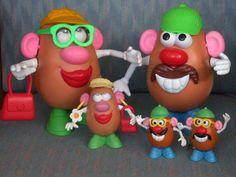 potatohead, famili, rememb, childhood memori, memori 8090, potato head