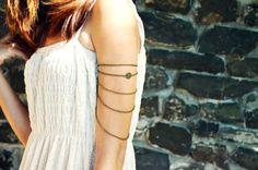 Armlet Slave Bracelet Arm Bracelet  Piece Hipster by FunnyPeopleCo, $17.00