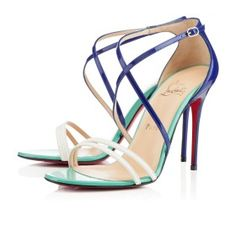 GWYNITTA GOMME - Louboutin - Okay....I know this doesn't belong on my fashion page.....I'd break my ankle just trying them on....but I secretly covet them.....just to look at....