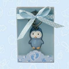 Owl Baby Shower Keychain Favors (Set of 12) $1.75 Per Item | Oh My Favors