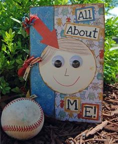 all about me printable pages