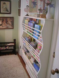 Pottery Barn book shelf knock-off