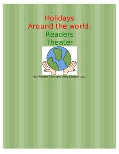 Younger grades often study Kwanzaa, Hanukkah and Christmas.  Here is a fact based readers theater to do in your classrooms.  We use it when we invi...