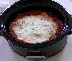 Slow Cooker Lasagna! vegan slow cooker