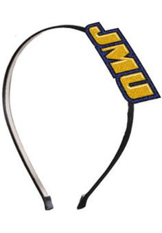 Keep your hair out of your eyes on those windy days with a cute handband that says you're a JMU fan!