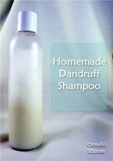 Homemade dandruff shampoo