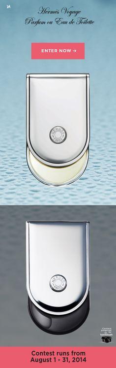 Hermès Voyage Parfum and Eau de Toilette available to be won! @bombbash
