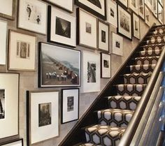 Stairway photo gallery.
