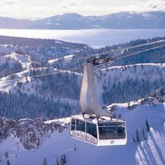 Lake Tahoe & Squaw Valley. SkiMag.com