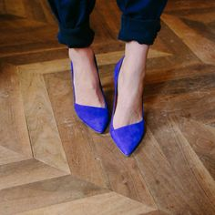 Love me some blue pumps #styleinspo #fashion #shoelover #followme #pinit