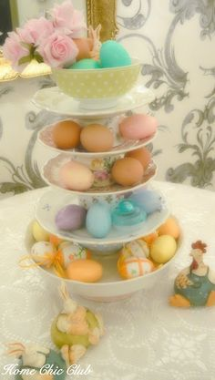 HOME CHIC CLUB: Easy Easter Decoration
