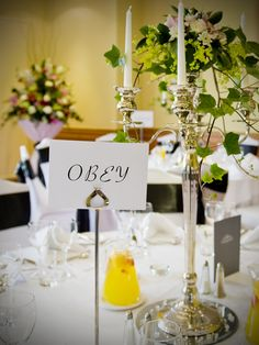Love this as a table name Idea!