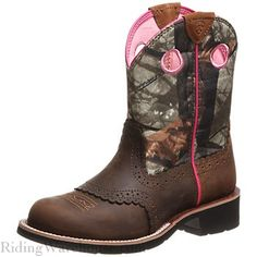 Ariat FatBaby Cowgirl Brown/Camo Women's Boots