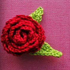 Belle's Rose Brooch