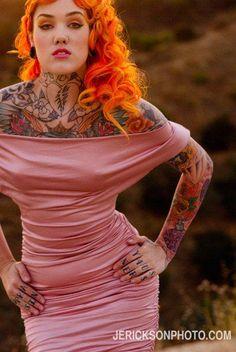 #tattoos #ink #inked  #tattoo #tattooed #piercing #pierced www.bodycandy.com