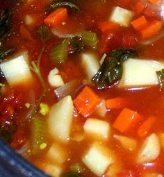 Little Vegan Veggie Soup