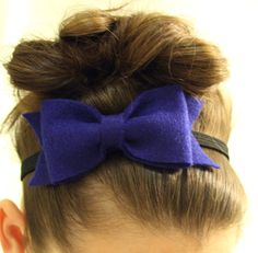 Can big girls wear bows too? <3