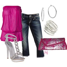 sparkle punch, created by fluffof5 on Polyvore