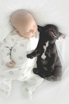 This Baby And Puppy