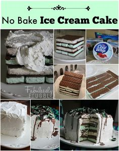You will not believe how easy it is to make this amazing ice cream cake. No bake ice cream cake with ice cream sandwiches.