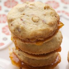 Almond-Apricot Cookies Recipe « Go Bold with Butter