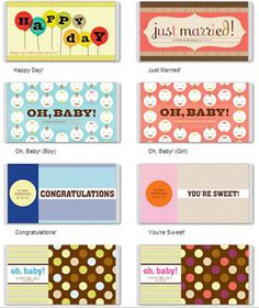Printable Candy Bar Wrappers