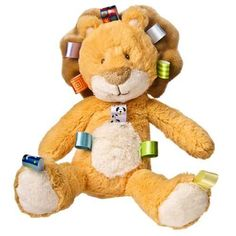 Taggies Oh So Softies Plush Lion, Golden by Taggies. $19.04. Oh So Softies are the toys you'll want to snuggle with for years to come. Deep, soft, rich plush in baby friendly pastels make these ultra soft toys a pleasure to have and to hug. With truly innovative attributes and small beginnings, Taggies has revolutionized and redefined how little ones feel secure and engaged in play. Originating with a mother's observation that her baby was more interested in the satin tags on to...
