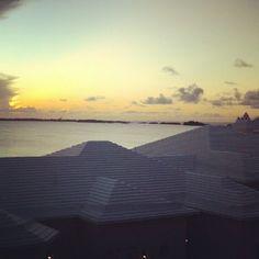 Bermuda sunrise July 20, 2012.
