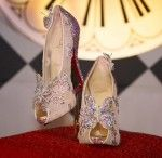Here Are the 'Glass Slippers' Christian Louboutin Designed for the Re-Release of Cinderella