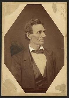 Nice variation of one of the portraits taken of Abraham Lincoln, 1860 Presidential Candidate, by Alexander Hesler. Photographed June 3, 1860 Springfield, Illinois. *s*