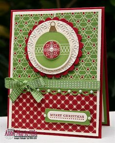 christma card, christmas cards, stamped cards, pet, paper, holiday cards, ornament, christmas baubles, stampin up christmas