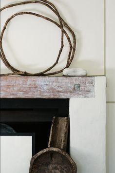 mantel decor - seventeendoors