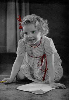 "Free pattern for Vintage ""Precious Pet Toddler Girls Dress"""