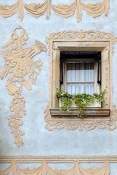 Enchanted window, Barcelona (Catalonia)