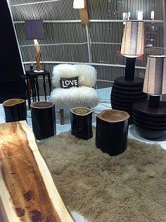 #home #interior #trends faux fur #maison objet paris 2012