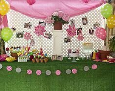 1st birthday garden party