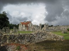 Castle Acre in Norfolk, England was founded by William de Warenne, son of the man who founded Lewes Priory. In 1085, Richard St Clair was a witness to a charter of William de Warenne, a near kinsman to William the Conqueror. The Sinclair DNA study has written a paper about familial connections at Acre - Families like Warenne, Montfort, de Vaux, Pinkeney, Talebot, and of course St Clair.
