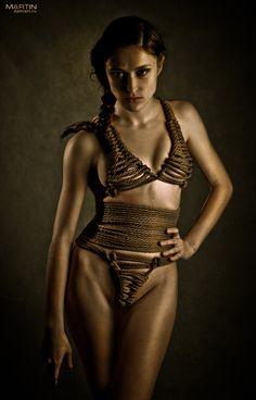 kinbaku  model: Lena Merieru